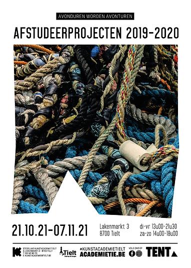 Affiche Afstudeerprojecten 2019-2020