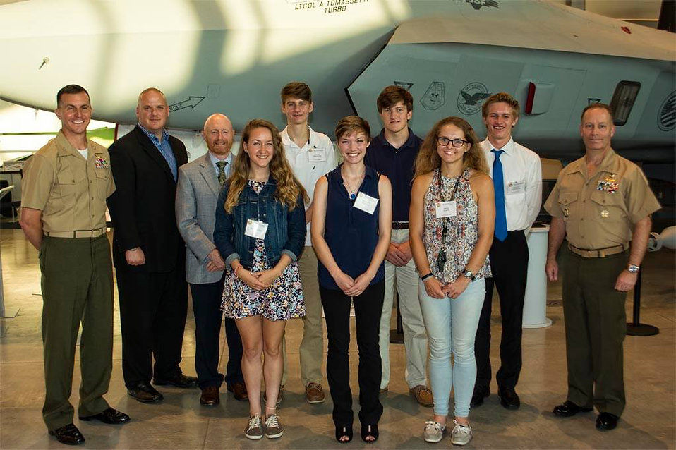 JohnGlenn Squadron Scholarship Recipients