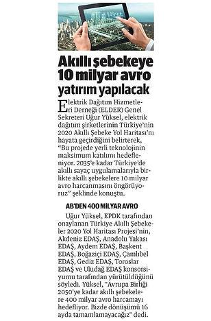 2016_02_21_Yeni Safak_Akilli Sebekeye 10 Milyar Avro Yatirim Yapilacak