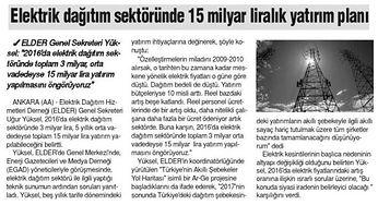2015_12_26_Son-an_Elektrik_Dagitim_Sektöründe_15_Milyar_Liralik_Yatirim_Plani