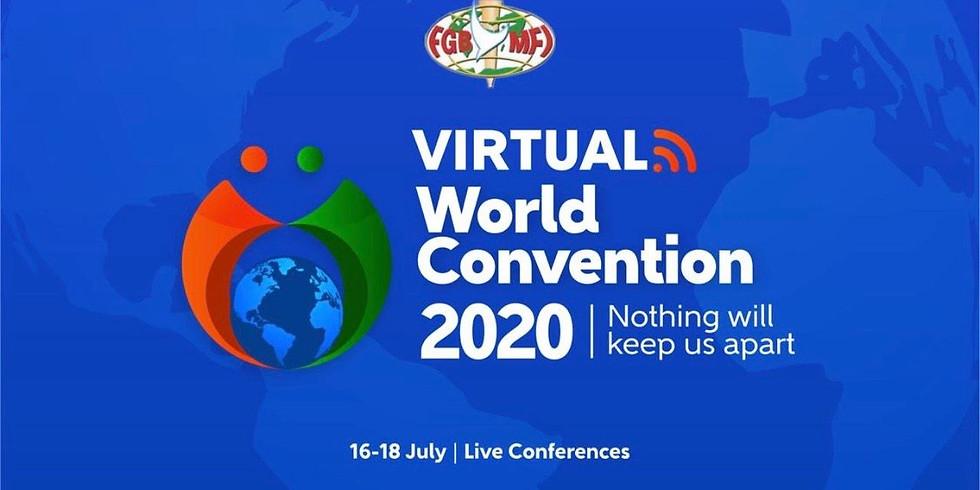 2020年世界大會7月16日至18日