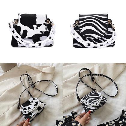 Animal Print Mini Bags