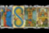 Tarocchi, lettere ebraiche e astrosofia.