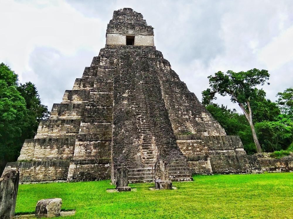 The Jaguar Temple at Tikal