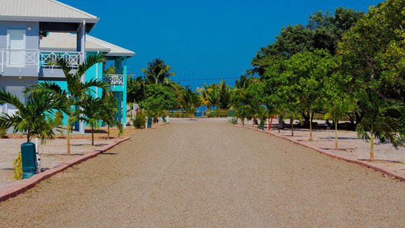 Hibiscus Way- view from the road toward the Sea