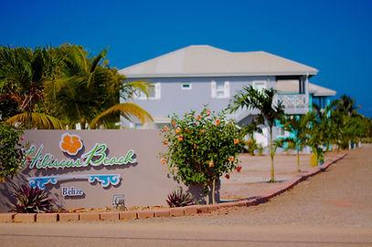 Hibiscus Beach Entrance