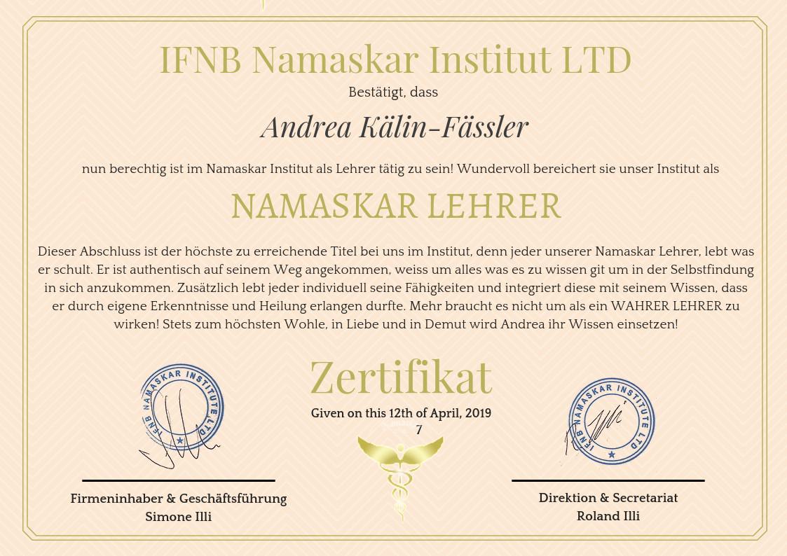 Zertifikat-NamaskarLehrer