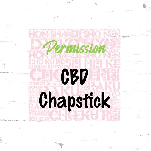 Permission - CBD Chapstick