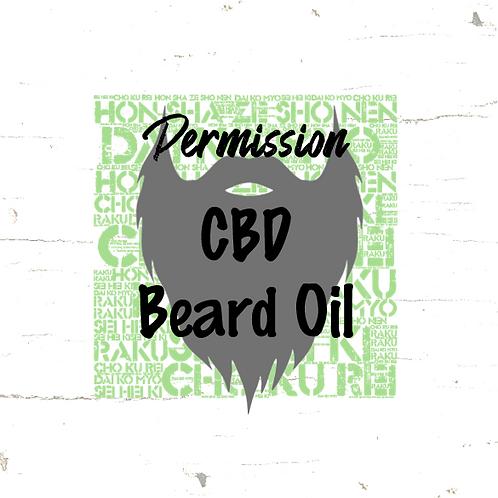 Permission - CBD Beard Oil