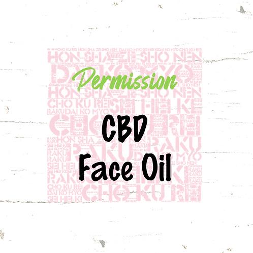 Permission - CBD Face Oil