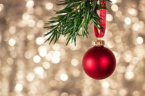 closeup-christmas-decorations-with-brigh
