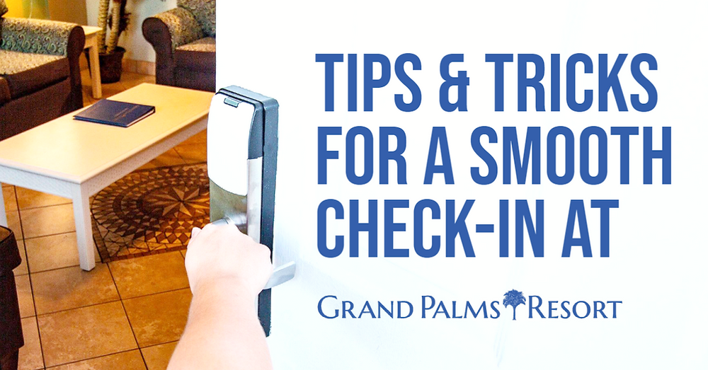 How to check-in at Grand Palms Resort, formerly Plantation Resort to begin your Myrtle Beach vacation.