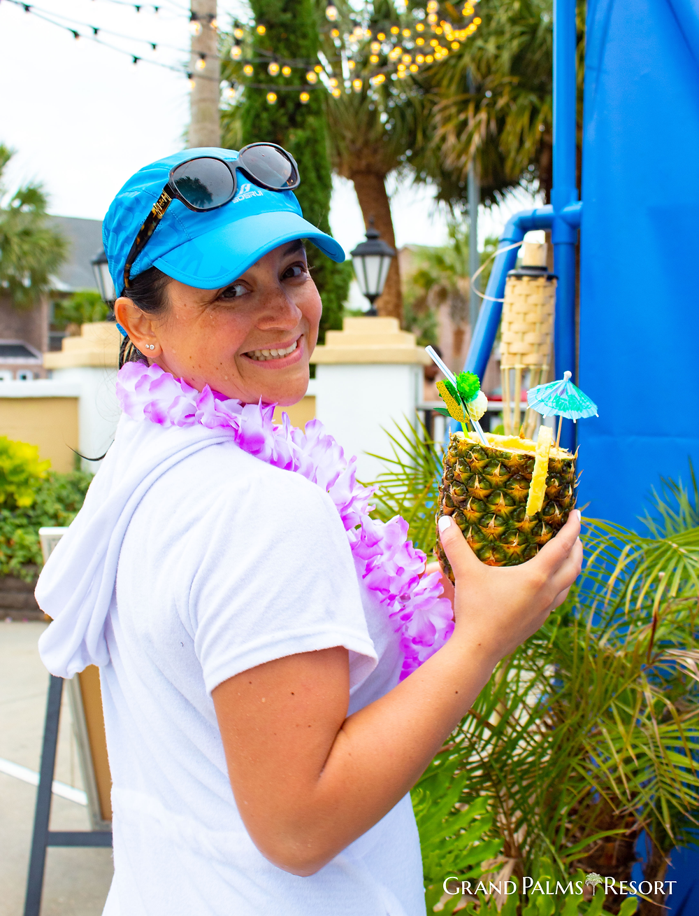 Enjoy our Polynesian Pool Party during your Myrtle Beach vacation at Grand Palms Resort formerly Plantation Resort.