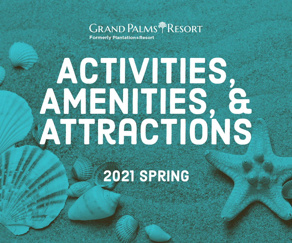 Enjoy activities, amenities, and attractions in Myrtle Beach during your vacation at Grand Palms Resort