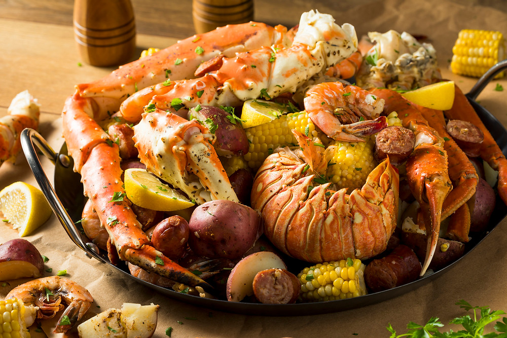 Best Places to get seafood in Myrtle Beach during your stay at Grand Palms Resort formerly Plantation Resort.