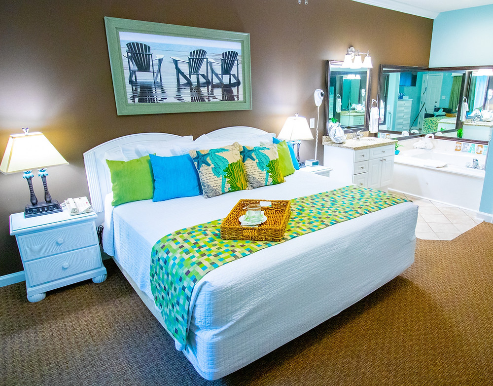 Grand Palms Resort Presidential Villa Master Bedroom for your Myrtle Beach Vacation