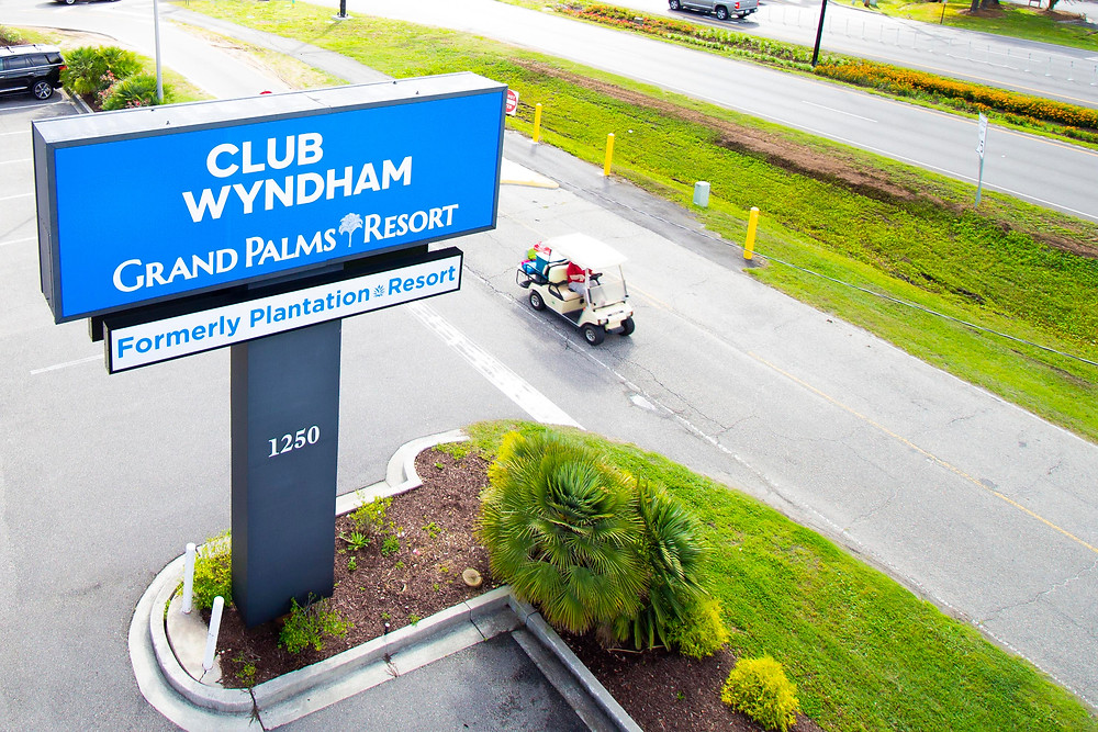 Directions to your Myrtle Beach vacation at Grand Palms Resort formerly Plantation Resort.