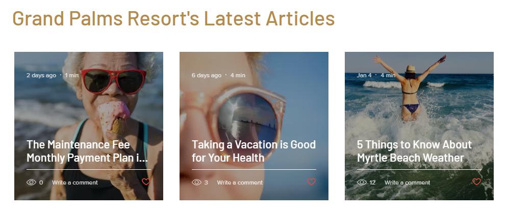 Enjoy our new website for Grand Palms Resort formerly Plantation Resort