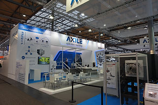 Axile Machine Tool Show Booth