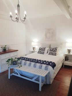 Provide lush sheets and lighting for your guests