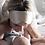 Thumbnail: Silk Sleep Mask in a Gift Box NUDE