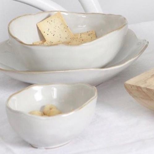 Flax Tapas Bowl Cream 11cm
