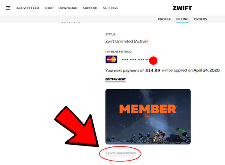 Zwift - How to save a few bucks each month