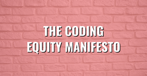 The Coding Equity Manifesto
