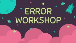 The Error Workshop Page
