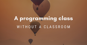 A programming class without a classroom