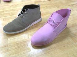 Pink Foam shoe
