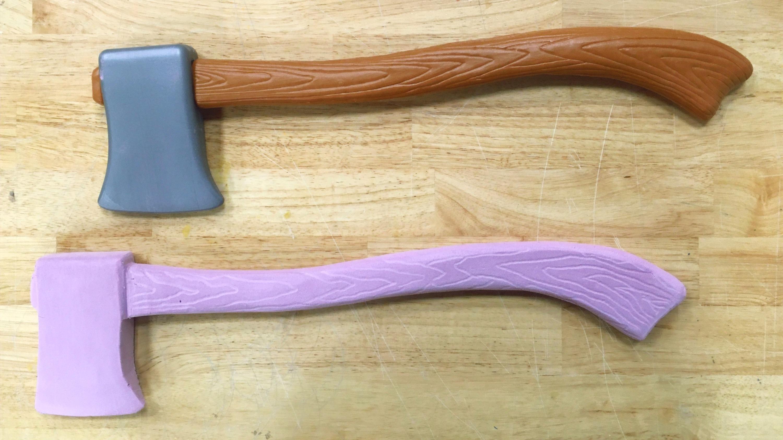Pink Foam Axe