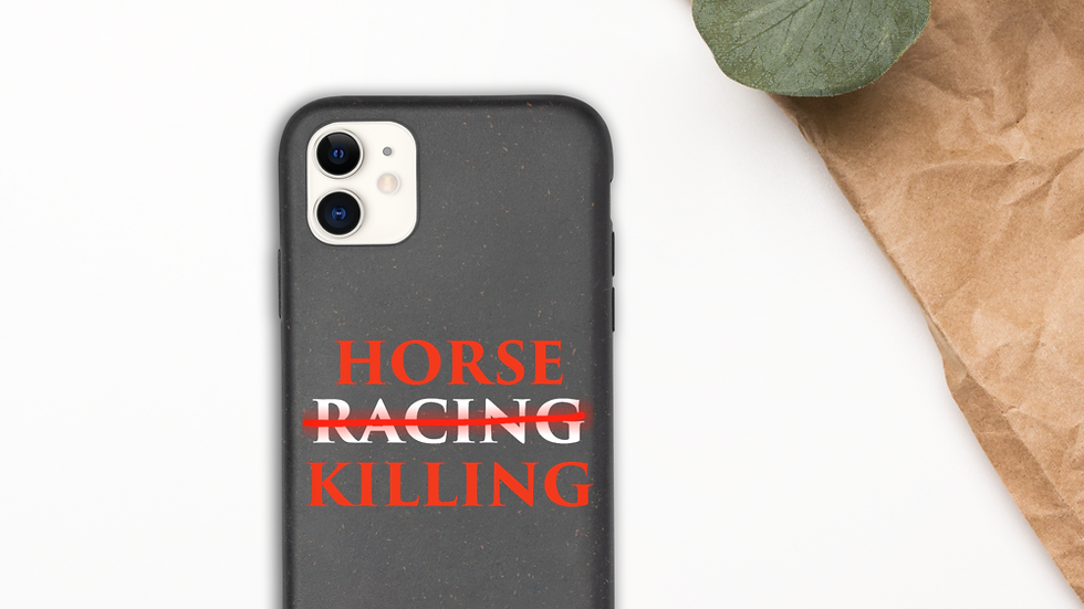 Horse Killing iPhone Case