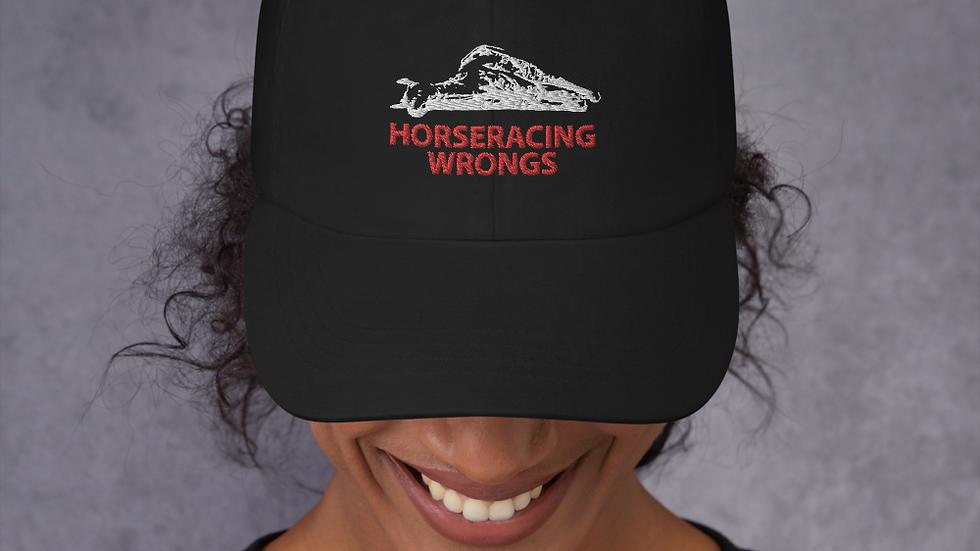 Horseracing Wrongs Baseball Cap