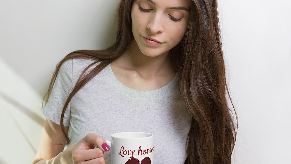 Love Horses Mug