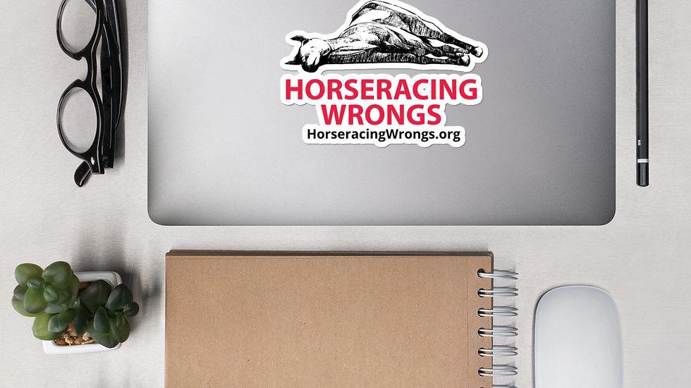 Horseracing Wrongs Stickers