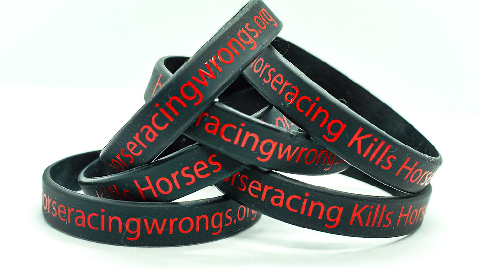 End Horseracing Wristbands