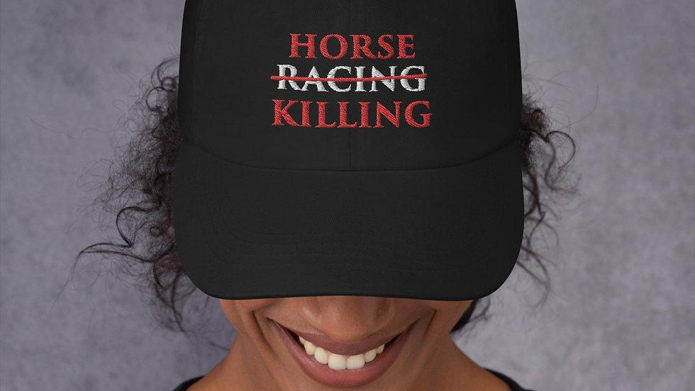 Horse Killing Baseball Cap