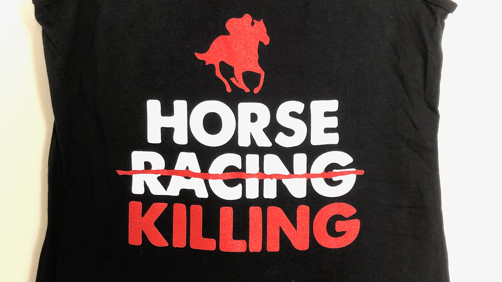 """Horse Killing"" Womens Tank"