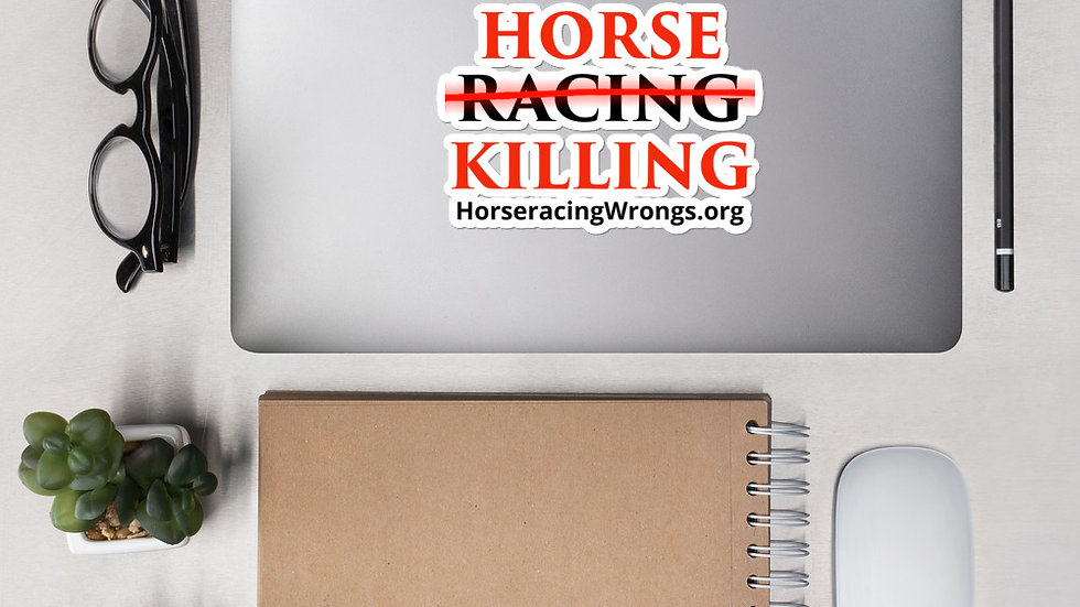 Horse Killing Stickers