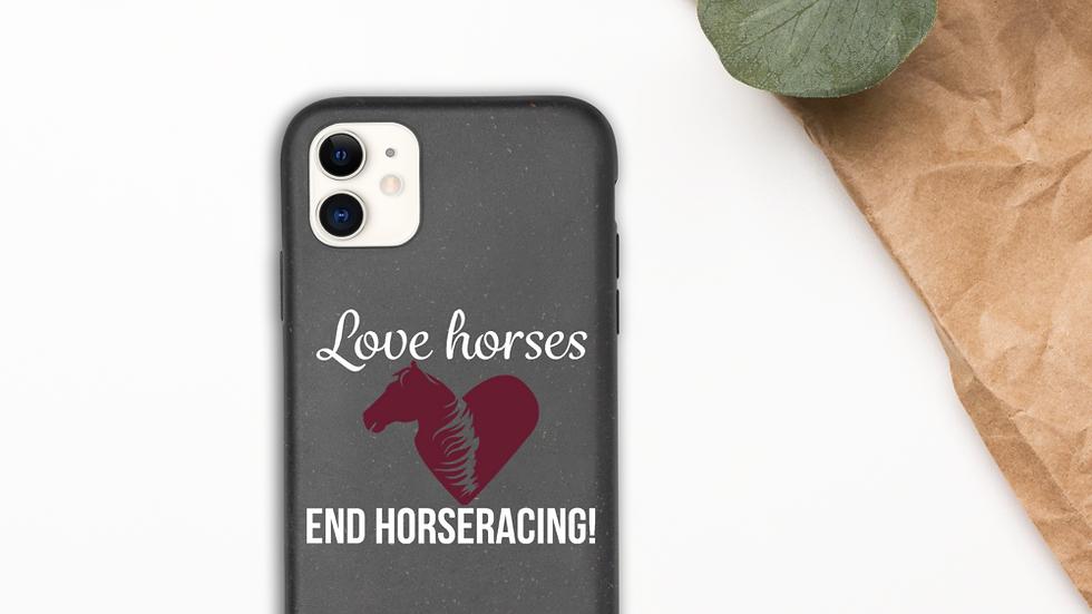 Love Horses iPhone Case