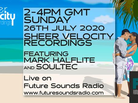 Sheer Velocity Radio Show 26th July 2020