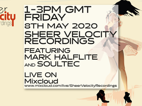 Mark Halflite + soulTec on Mixcloud Live This Friday
