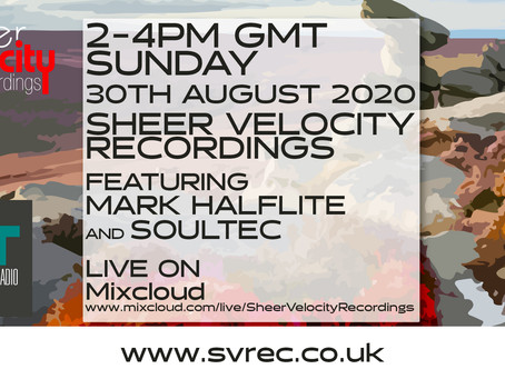 Sheer Velocity Radio 30th August 2020