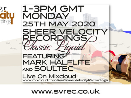 Archive of the 25th May Classic Liquid Mixcloud Live stream with soulTec and Mark Halflite