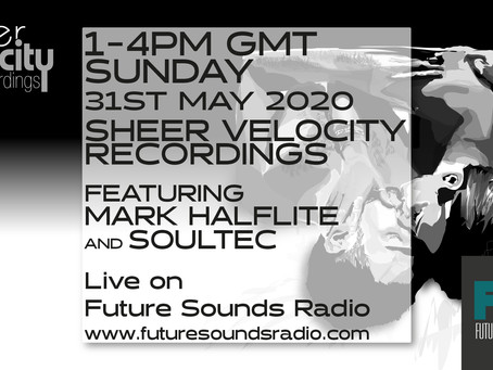 Archive of 31st May Sheer Velocity Radio Show