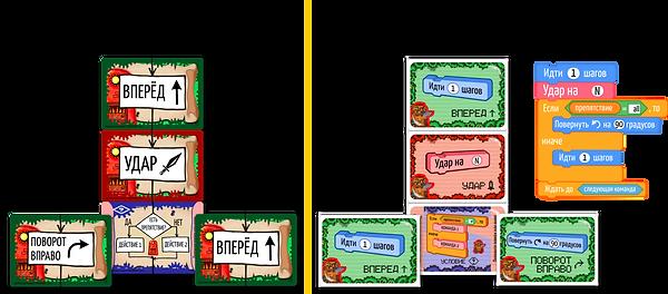 Отличия Карточной Лиги от Битвы Големов