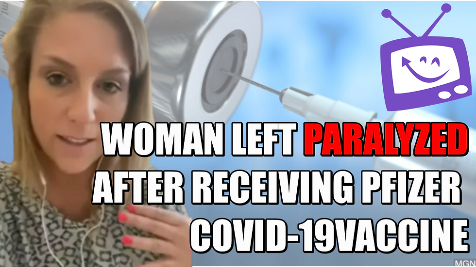 Woman Left Paralyzed After Receiving Pfi
