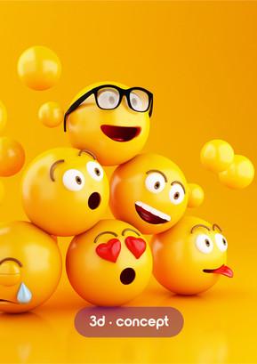 emojis 3d