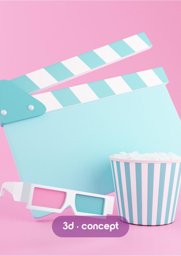 3d cinema render